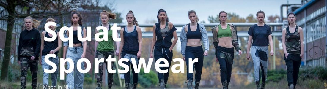 Nieuwe website Squat Sportswear